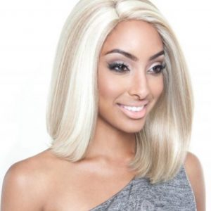 Front Lace Wig Color 613