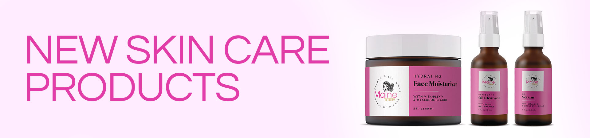 Skincare Banner Virgin Hair Loft